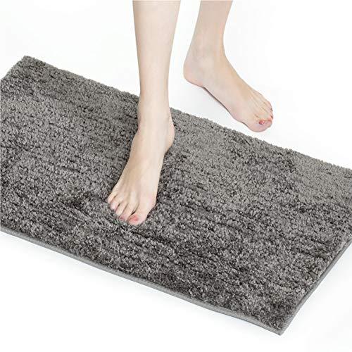 Bedsure Alfombra Baño Antideslizante 40x60 - Alfombrilla Baño Barata Suave y Superabsorbente,...