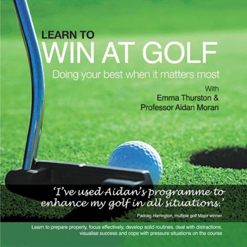 Learn to Win at Golf audiobook cover art