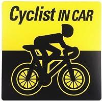 サイクリスト向け「Cyclist in Car」 アスリートステッカー