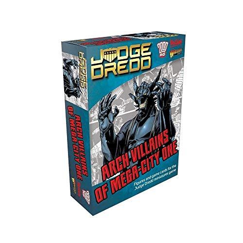 WarLord Judge Dredd Arch Villains of Mega City One...