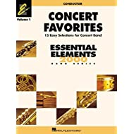 CONCERT FAVORITES VOL1 CONDUCTOR (Essential Elements 2000 Band) by Michael Sweeney (2002-10-01)