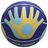 Baden SkilCoach Shooter's Rubber Training Basketball, 27.5-Inch