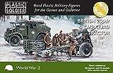 Soldador de plástico 15 mm British 25pdr & CMP Quad Tractor # WW2G15006