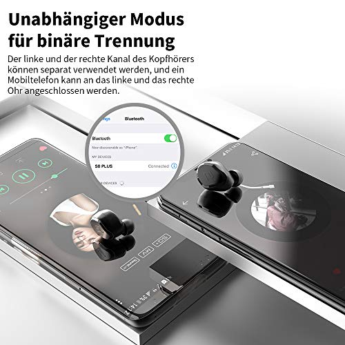 Antimi Bluetooth Kopfhörer 2019 Bild 4*