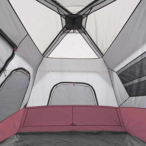 CORE 6 Person Instant Cabin Tent (Wine)