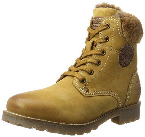 Dockers by Gerli 41hl301-350, Desert Boots Femme, Jaune (Golden Tan), 41 EU