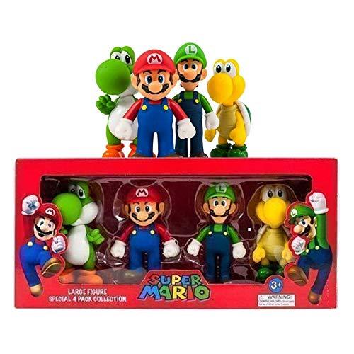 Super Mario Grand 4 Figurine De Collection Paquet