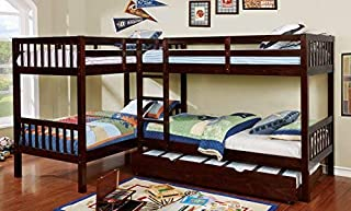 HOMES: Inside + Out Ennie Bunk Childrens Bed Frames, Twin/Twin/Twin/Twin