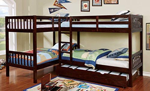 Homes Inside Out Ennie Bunk Childrens Bed Frames Twin Twin Twin Twin Buy Online In United Arab Emirates At Desertcart Ae Productid 47409812