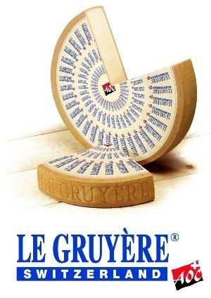 Gruyère Käse | Premium Qualität | Frisch von Messer! | 1 Kilo
