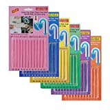 Fuyamp Drain Cleaner Sticks Unblocker, 72 Pcs Sani Sticks Drain Cleaner and Deodorizer