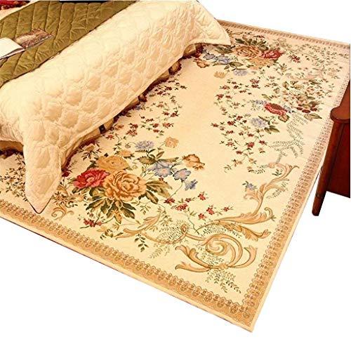 Woonkamertapijt, rustiek design, voor woonkamer, salontafel, bank, tapijt, slaapkamer, romantisch, hoofdeinde, 160 × 230 cm 160×230cm