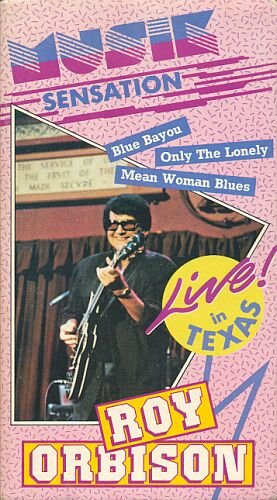 Roy Orbison - Live in Texas (New edited Video-Compilation) [NL-Import]