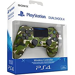 Sony - Dualshock 4 V2 Mando Inalámbrico, Color Verde Camuflaje ...