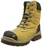 Caterpillar Premier 8' WR TX CT S3 HRO SRC, Zapatos de Seguridad para Hombre, Amarillo (MN Hnyrst MN Hnyrst), 42 EU