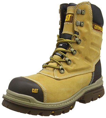 Cat Footwear Herren Premier Sicherheitsstiefel, Gelb (Mn Hnyrst Mn Hnyrst), 40 EU