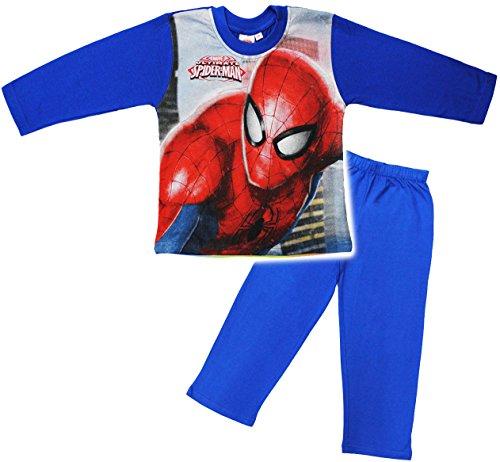 alles-meine.de GmbH alles-meine.de GmbH 2 TLG. Set _ Schlafanzug / Hausanzug / Pyjama - Spider-Man - Größe: 2,5 Jahre - Gr. 98 - Langer Trainingsanzug / Sportanzug langärmelig - 100 % Baumwolle ..