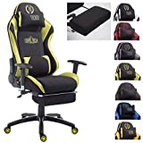 CLP Silla Gaming XL Shift V2 En Tela I Silla Gamer con 2 Cojines I Silla Racing...