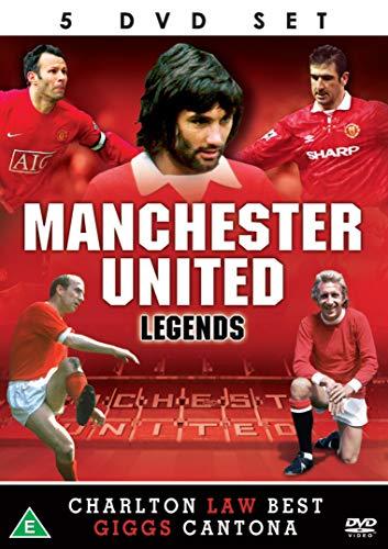 Manchester United Legends - 5 DVD SET Man Utd Football Club Legends Law Charlton Best Giggs Cantona