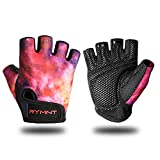 Workout Gloves for Women Men - Weight Lifting Gloves with Full Palm Protection & Extra Grip for Gym,Weightlifting,Fitness,Exercise,Training.Cycling.Galaxy.Small