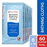Pharma-C-Wipes Water Activated Bathing Cloths - Rinse Free - Thick, Pretreated...