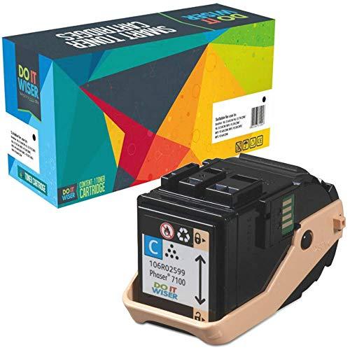 Do it Wiser Toner Kompatibel für Xerox Phaser 7100 7100N 7100DN | 106R02599 (Cyan)
