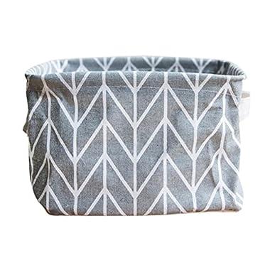 Storage Bins,IEason Foldable Colors Storage Bin Closet Toy Box Container Organizer Fabric Basket …