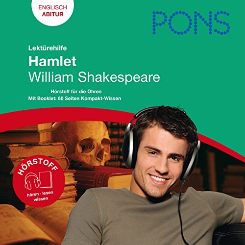 Hamlet - Shakespeare Lektürehilfe. PONS Lektürehilfe - Hamlet - William Shakespeare cover art