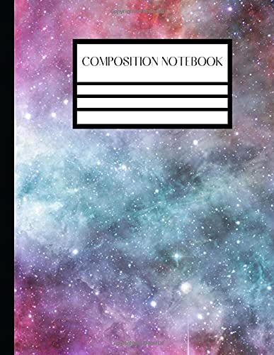 Composition Notebook Tye Dye College Ruled Lined 120 Pages - Large 8.5 x 11 Lined Paper For Home School Students Teachers Women Boys Girls Kids: ... Notebook Cute Gift For Birthday and Christmas
