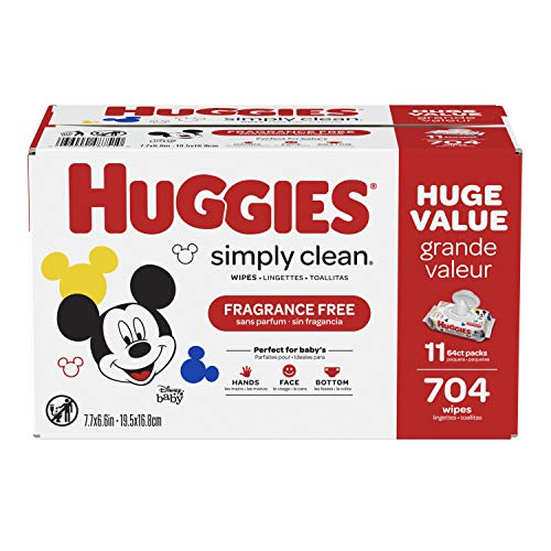 Product Image of the Huggies Simply Clean