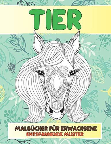 Malbücher für Erwachsene - Entspannende Muster - Tier