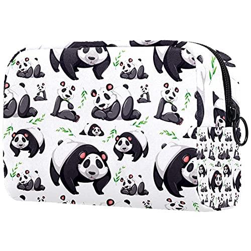 Neceser de viaje, bolsa de viaje impermeable, bolsa de aseo para mujeres y niñas, diseño retro azul chino dragón nubes 18,5 x 7,5 x 13 cm