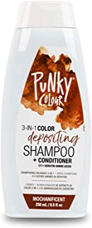 Punky Mochanificent 3-in-1 Color Depositing Shampoo & Conditioner with Shea Butter and Pro Vitamin B that helps Nourish and Strengthen Hair, 8.5 oz