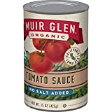 Muir Glen, Organic No Salt Added Tomatoes, 15 oz