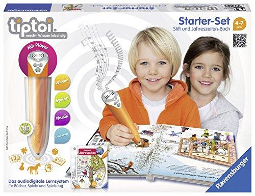 tiptoi® Starter-Set Wieso? Weshalb? Warum? Unsere Jahreszeiten: tiptoi® Stift mit Player und Buch Unsere Jahreszeiten