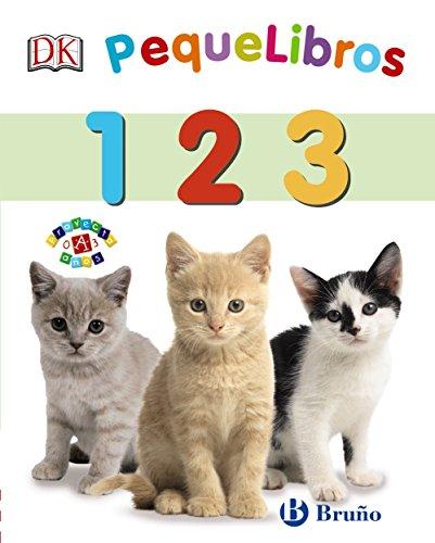 PequeLibros. 1 2 3 (Castellano - A Partir De 0 Años - Proyecto De 0 A 3 Años - Libros Lógicos)