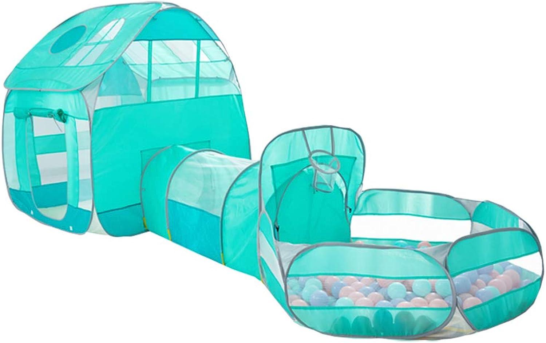 Kinderzelt Spielhaus Indoor Toy House Tunnel Krabbeln Kind Prinzessin House, kann für 3-5 Kinder verwendet Werden