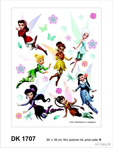 Disney Fairies-Fée Clochette - Maxi Stickers muraux 85x65cm