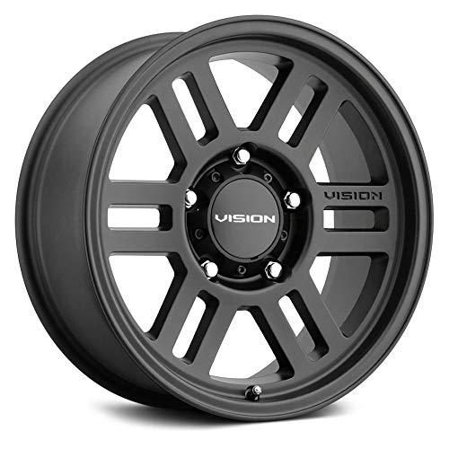 Vision Off-Road 355 Custom Wheel - Manx 2 Overland Series - Satin Black - 17' x 9', 20 Offset, 6x135 Bolt Pattern, 87.1mm Hub