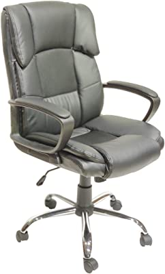 H&O (HOME & OFFICE) Ergonomically Designed Leatherette (Work from Home) Office Chair
