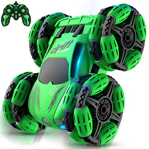 Remote Control Car RegeMoudal RC Stunt Car Toy Double Sided Rotating Tumbling 360° Flips RC Car Best Gift for Kids
