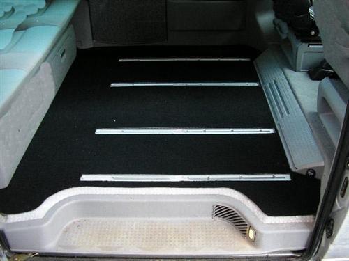DSX 363 Passform Gastraum-Matte, Schwarz
