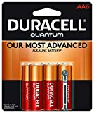 Duracell Quantum AA Alkaline Batteries - Long Lasting, All-Purpose Double A battery for Household and Business - 6 count