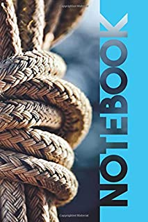 Notebook: Climbing Rope Beautiful Composition Book for Indoor Belaying Experts