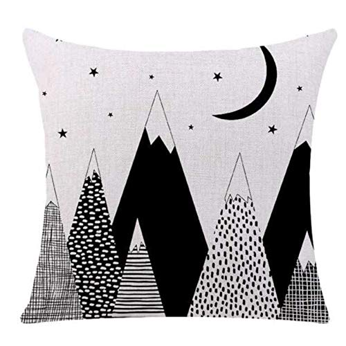 Linen Series Zj-757 Geometric Triangle Printing Linen Pillow Decorative Pillow Car Sofa 45X45Cm