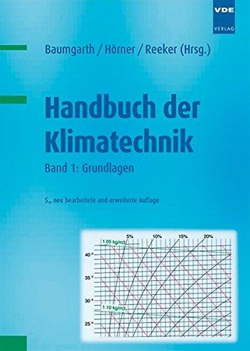 Handbuch der Klimatechnik: Band 1: Grundlagen