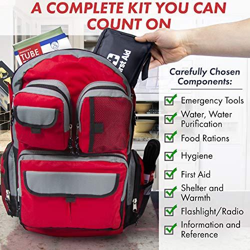 Emergency Zone 72-Hour Survival Kit