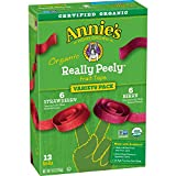 Annie's Strawberry/Berry Organic Really Peely Fruit Tape Variety Pack, 12 Count
