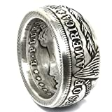 US Morgan Coin Ring 90% Silver Hand Made in the USA