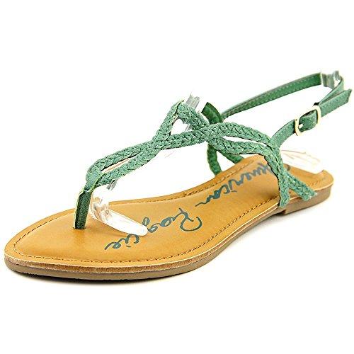 American Rag American Rag Keira Braided Flat Sandals Watercress 11m
